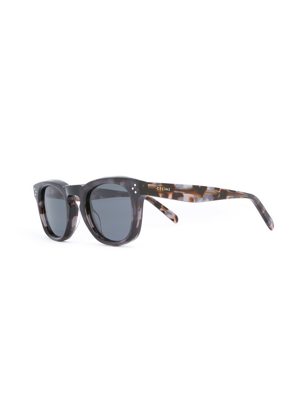 e9f696cc66a13 Céline  bevel Square  Sunglasses in Brown - Lyst