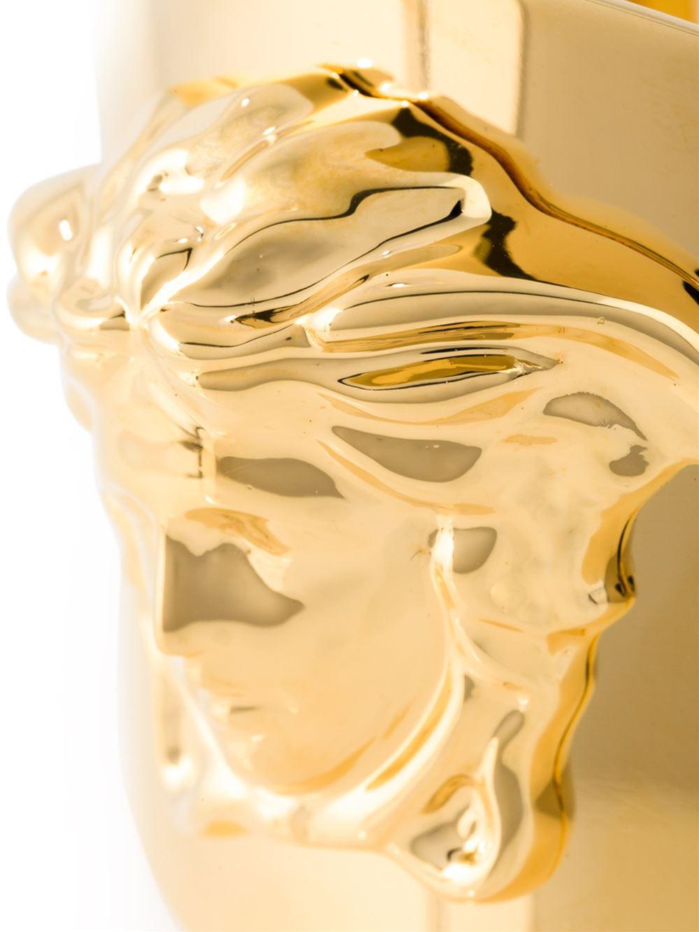 Versace Medusa Cuff in Metallic