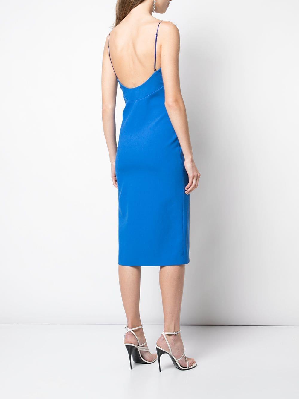 Olivia dress Synthétique Haney en coloris Bleu