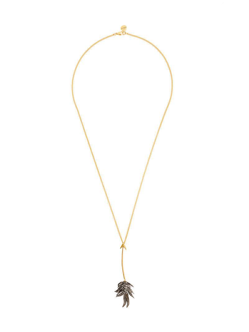 Givenchy Arrow necklace - Metallic Uyi58mAsA