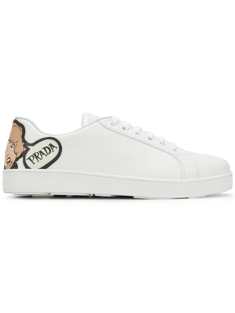 Prada cartoon motif sneakers real for sale latest cheap price cheap hot sale outlet online gMFDgZ38yU