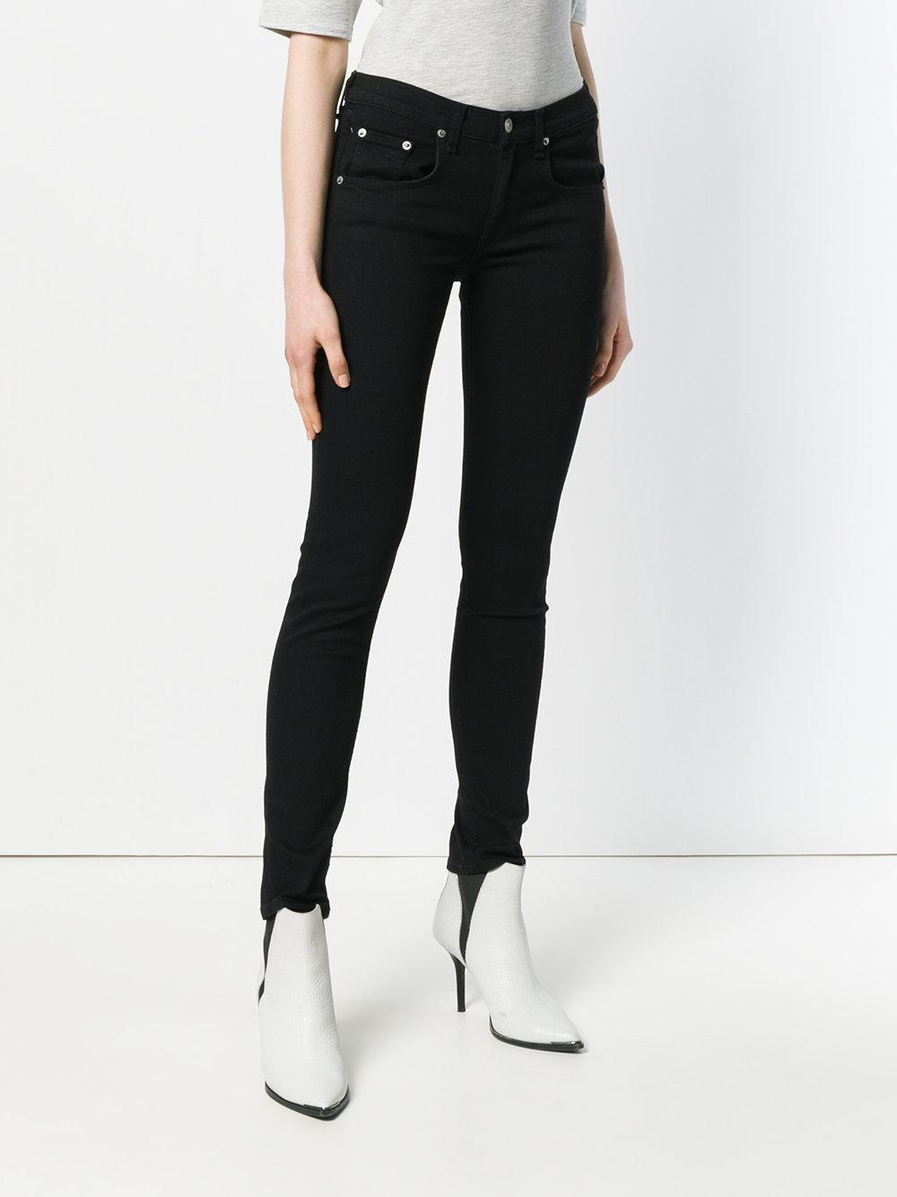 Rag & Bone Denim Slim Fit Jeans in Black