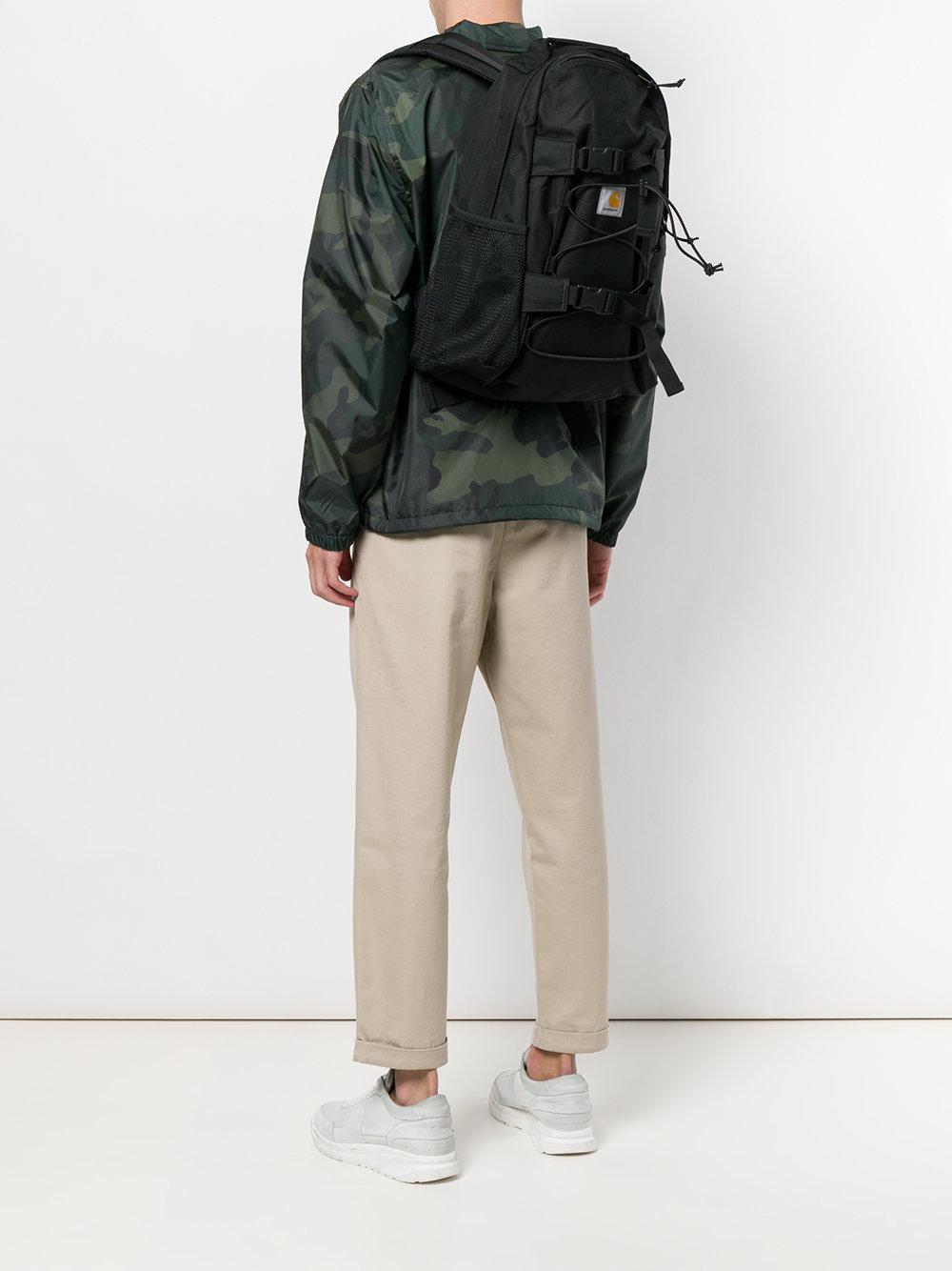 Carhartt Utility Logo Backpack in Black for Men