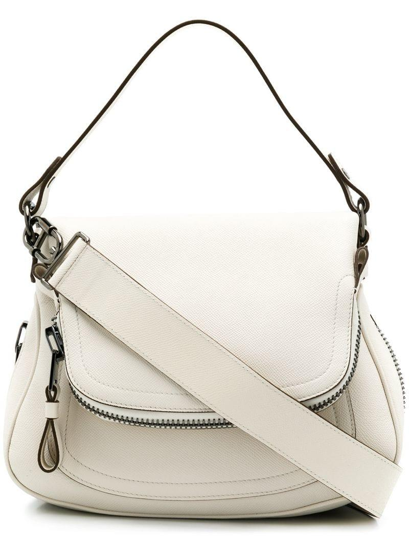 034722ddeceb Lyst - Tom Ford Foldover Tote Bag in White