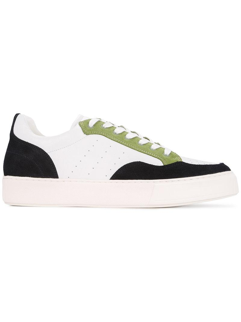 panelled sneakers - White Cerruti y8nwyhdhC0