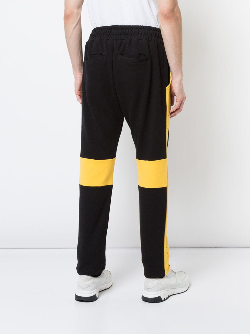 Cut Here track trousers - Black Mostly Heard Rarely Seen Clearance Eastbay For Sale Visit For Sale Sale Huge Surprise Clearance Online Ebay vo9NWdb