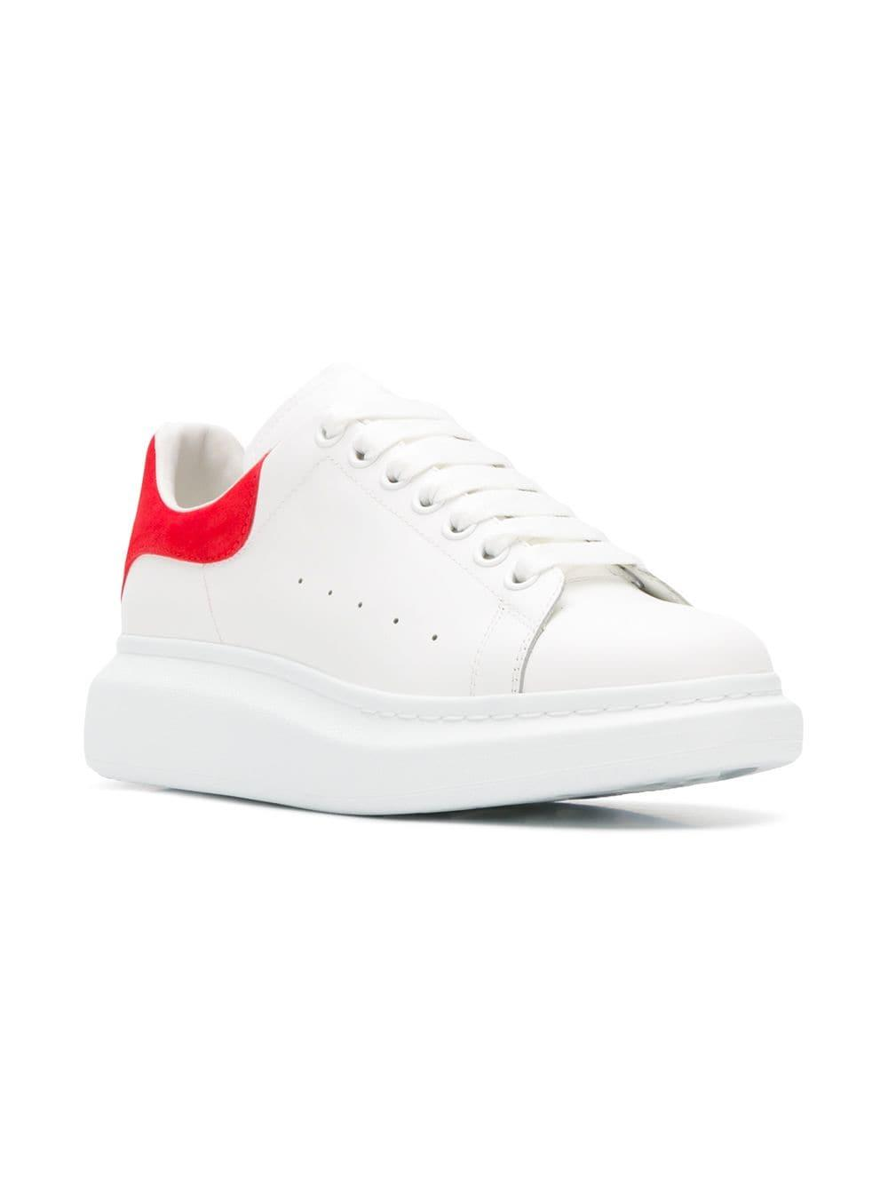 e8411ff3bfb08 Lyst - Alexander McQueen Chunky Low-top Sneakers in White for Men - Save 45%