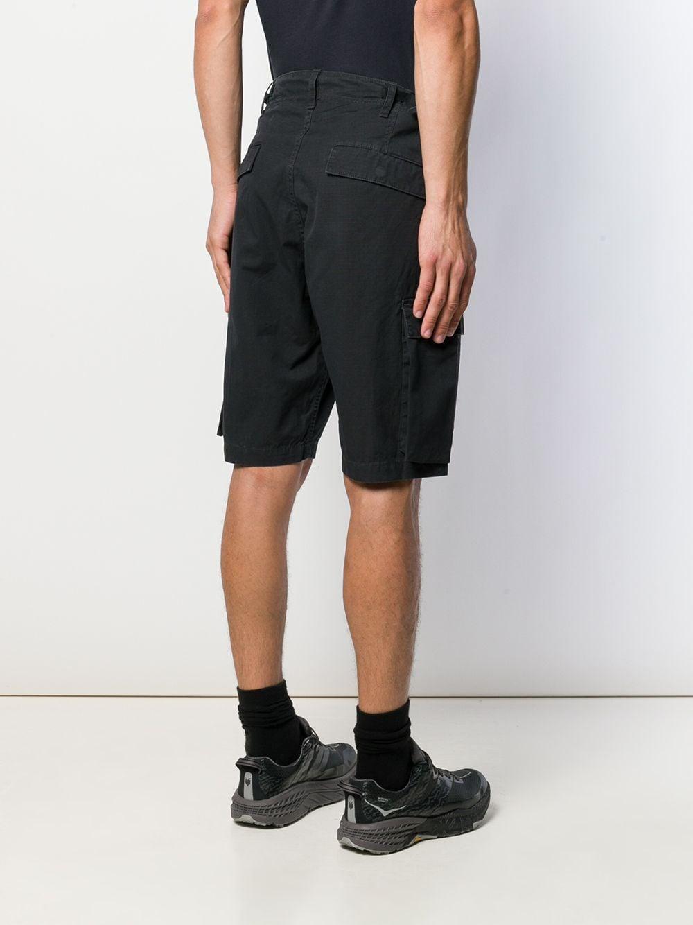 Neighborhood Cargo Shorts in het Zwart voor heren