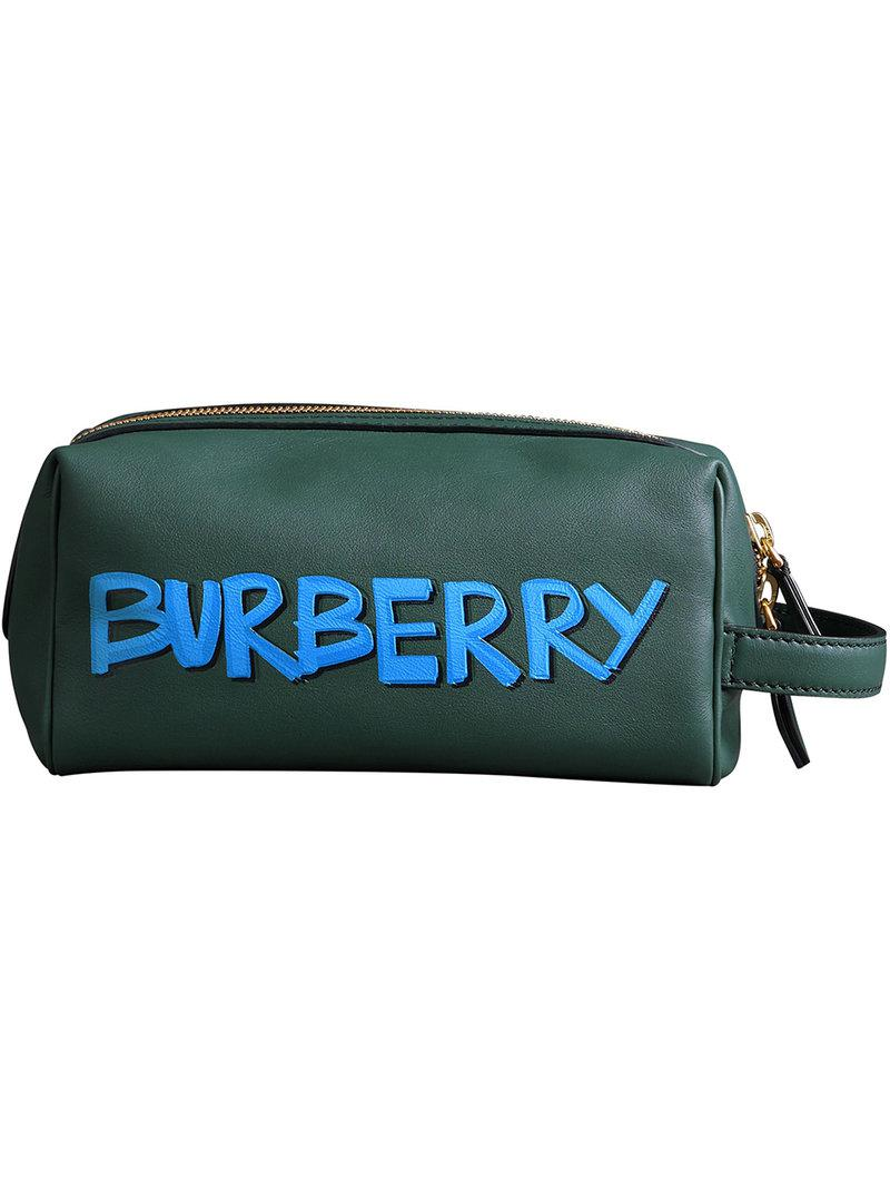 Burberry Grand sac porté épaule à logos fa?on graffiti U3oVj1SwU