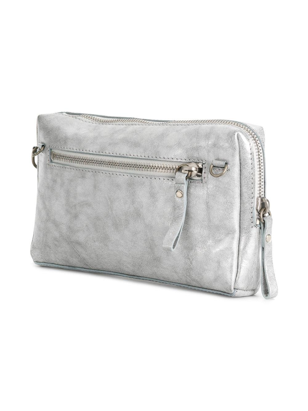 Marsèll Leather Scatolina 0324 Crossbody Bag in Grey (Grey)