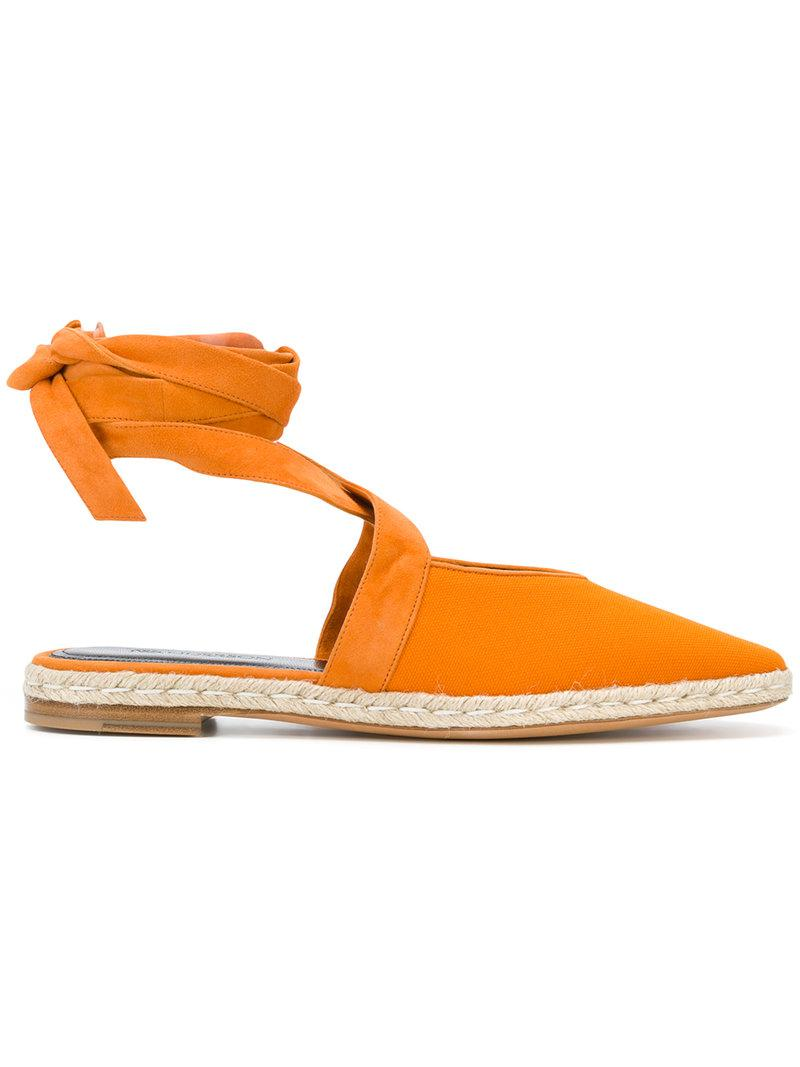 Sale Free Shipping Pay With Visa Online J.W.Anderson Ribboned Espadrillas Free Shipping Footlocker Finishline Outlet Low Shipping Free Shipping Prices KYjoJrtlE