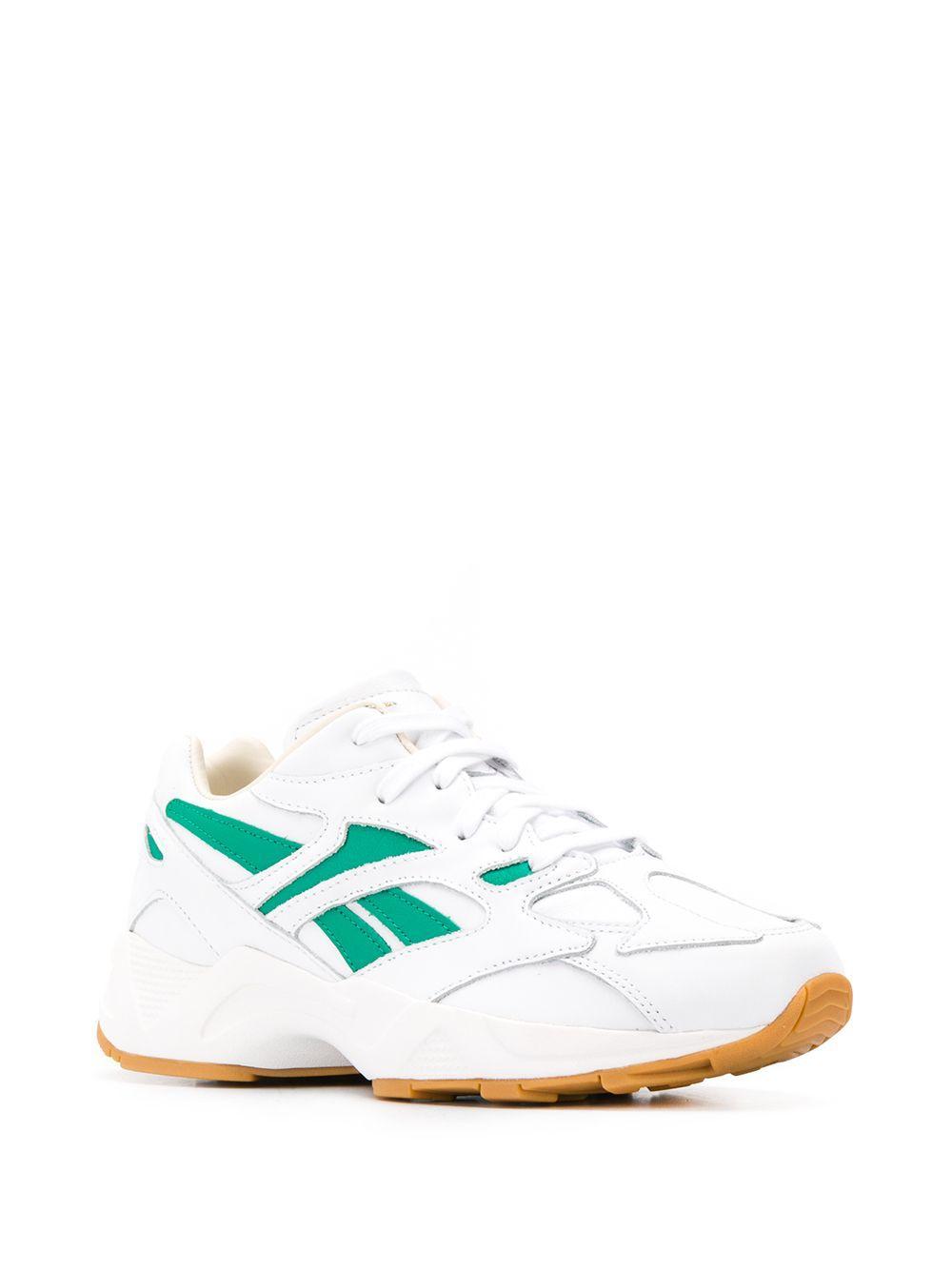Reebok Leer Aztrek 96 Masterpiece Sneakers in het Wit voor heren