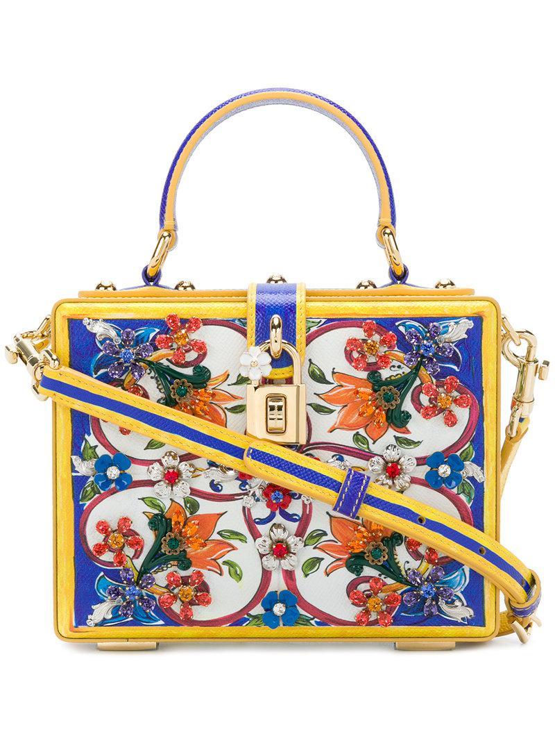 6e62840ad7 Dolce   Gabbana. Women s Majolica Box Bag