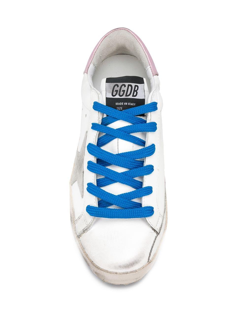 Zapatillas clásicas con motivo de estrella Golden Goose Deluxe Brand de Pluma de oca de color Blanco