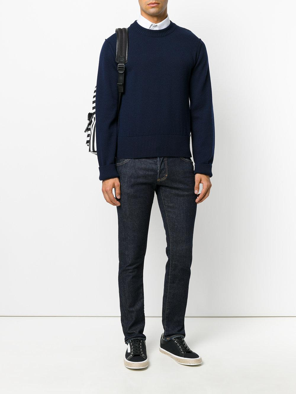 hombro para Dolce Gabbana en costura el jersey Lyst con hombres q0OUO6RYnw