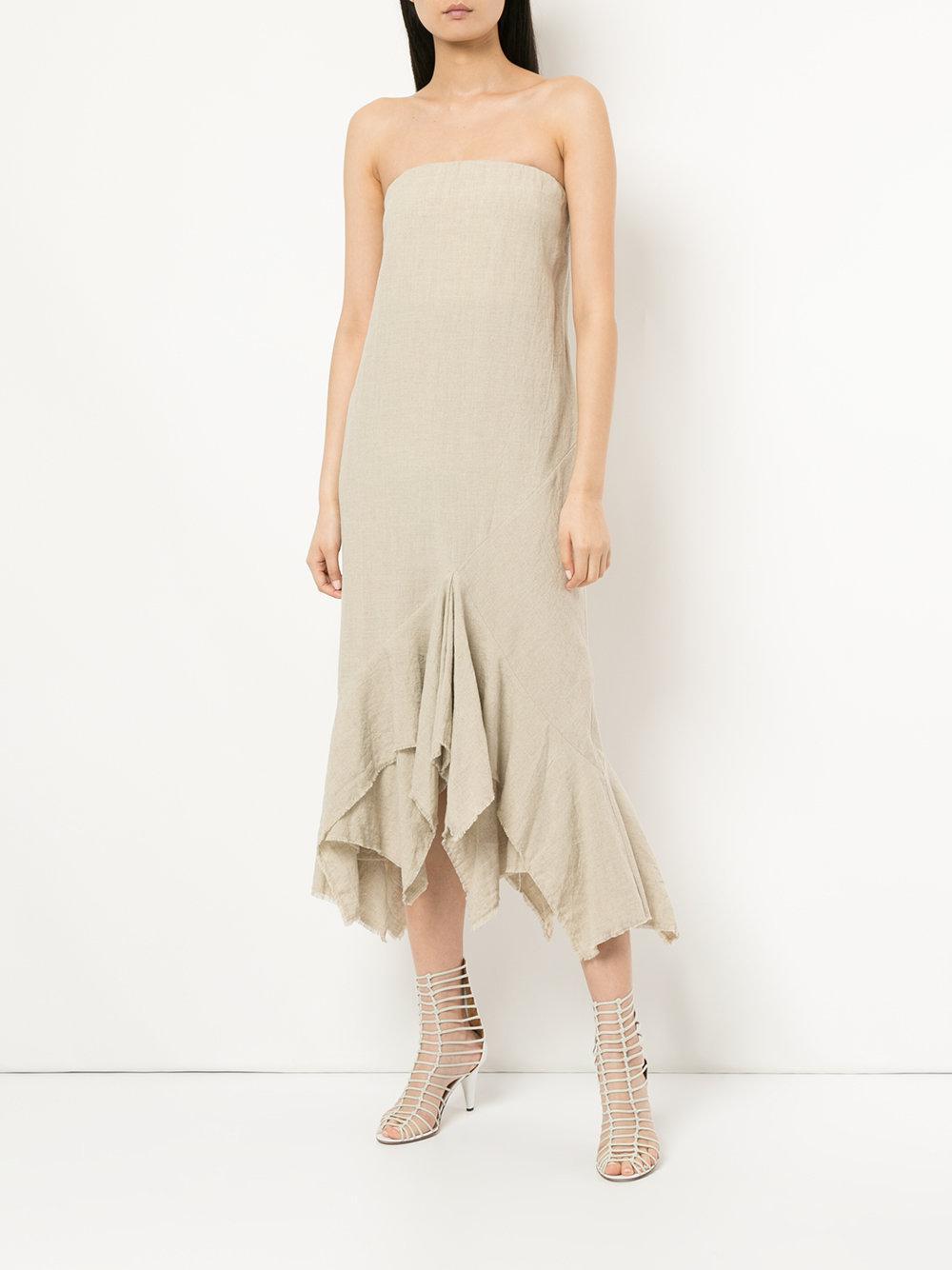 kit x strapless dress