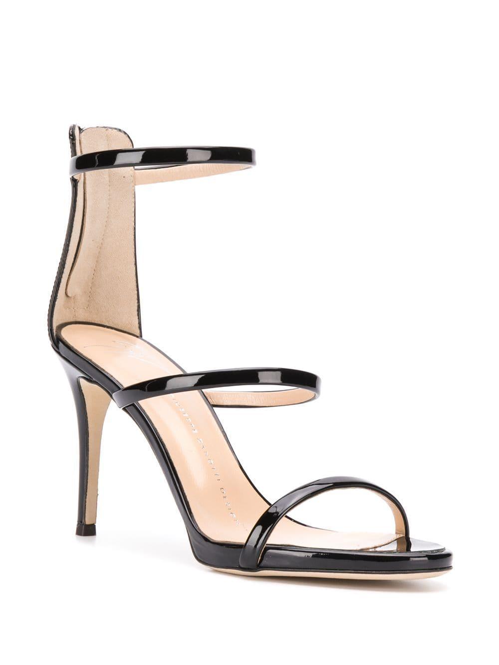 820b3ab8d7784 Lyst - Giuseppe Zanotti Harmony Sandals in Black