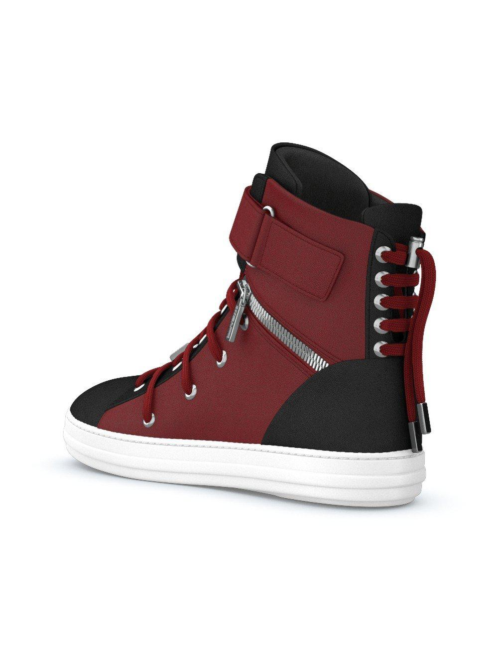 Swear Lace Regent Sneakers in Red
