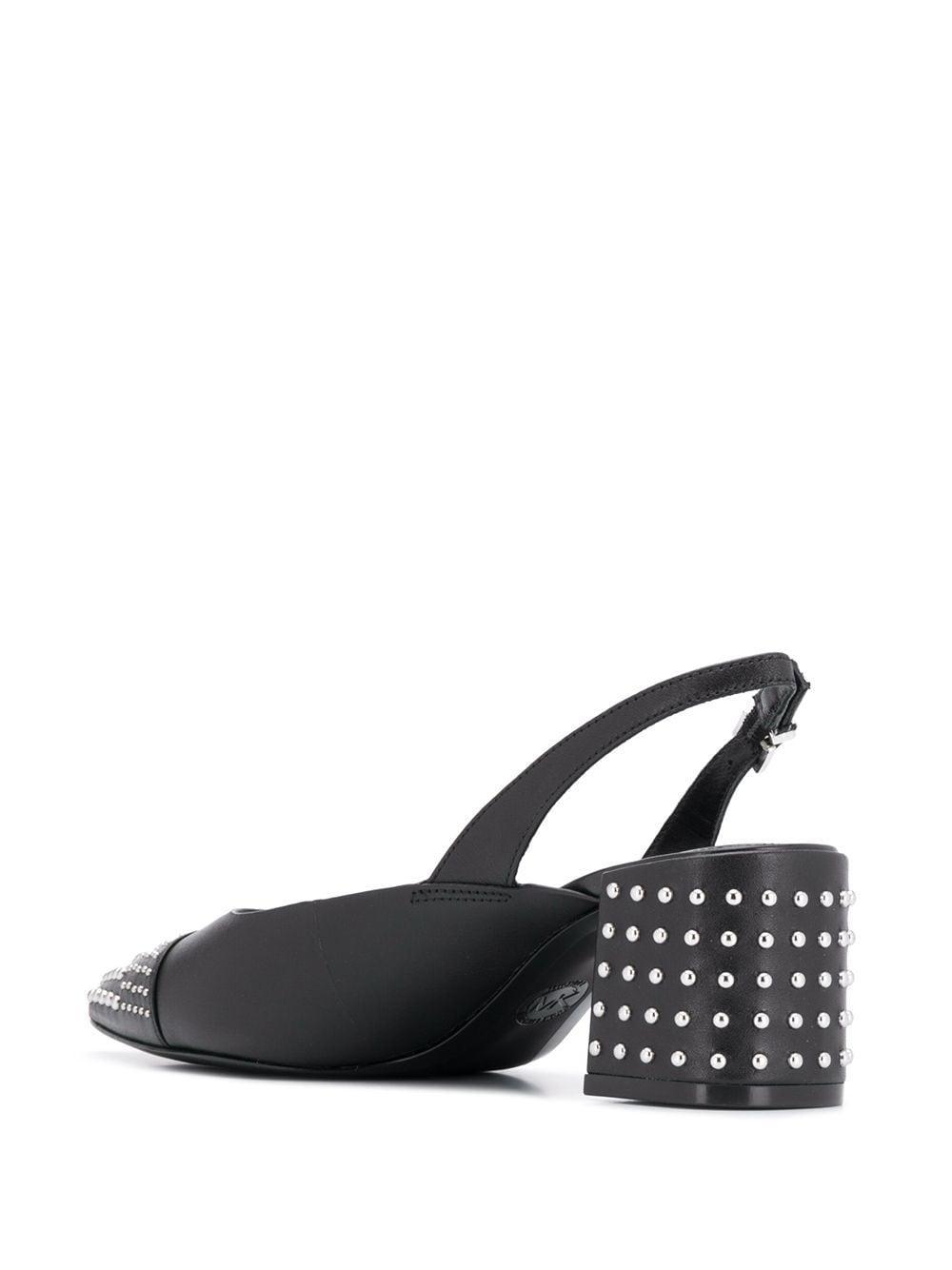 Zapatos de tacón con detalle de apliques MICHAEL Michael Kors de Cuero de color Negro