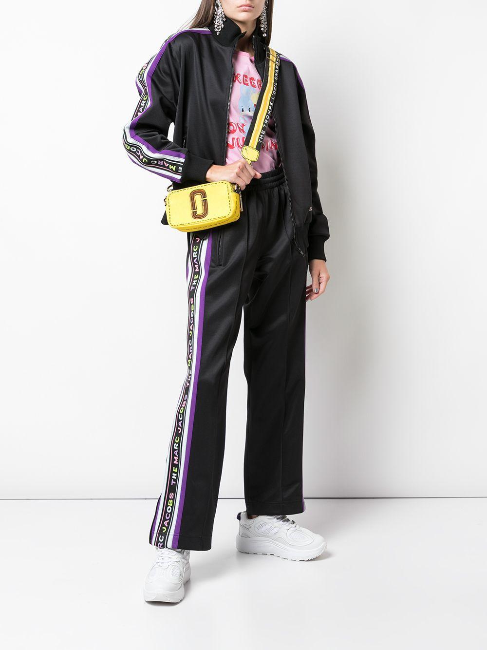 Sac à bandoulière Trompe L'Oeil Snapshot Marc Jacobs en coloris Jaune