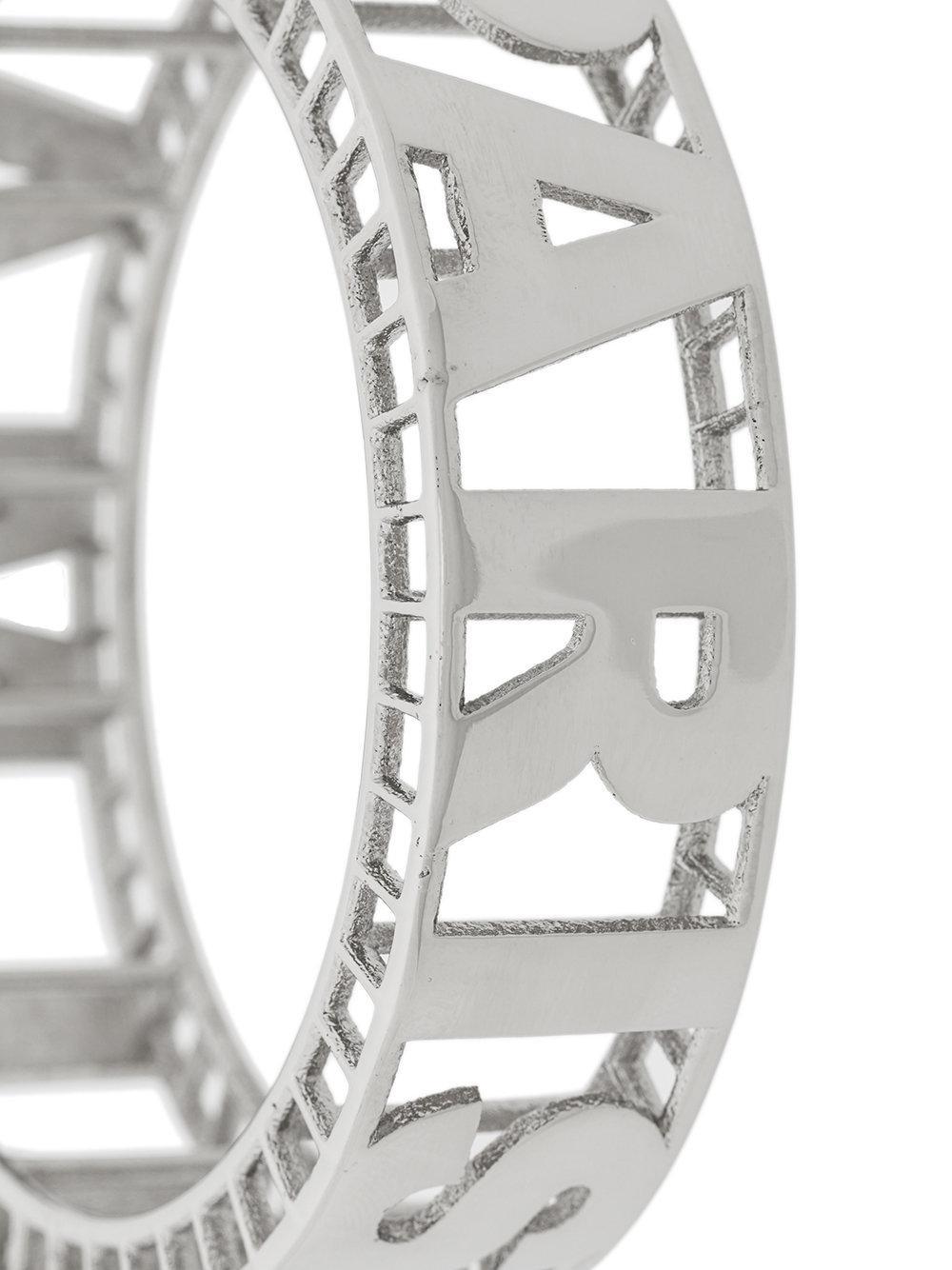 Balmain signature cuff bracelet - Metallic s80mNd
