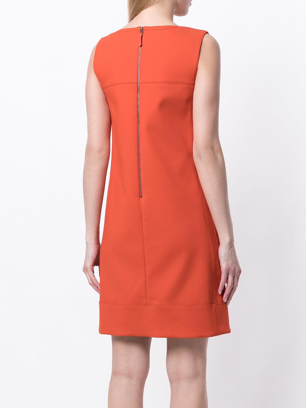 Good Service Brand New Unisex Online classic shift dress - Yellow & Orange Paule Ka Buy Cheap 2018 New Sale Sast 3eKMZVdw