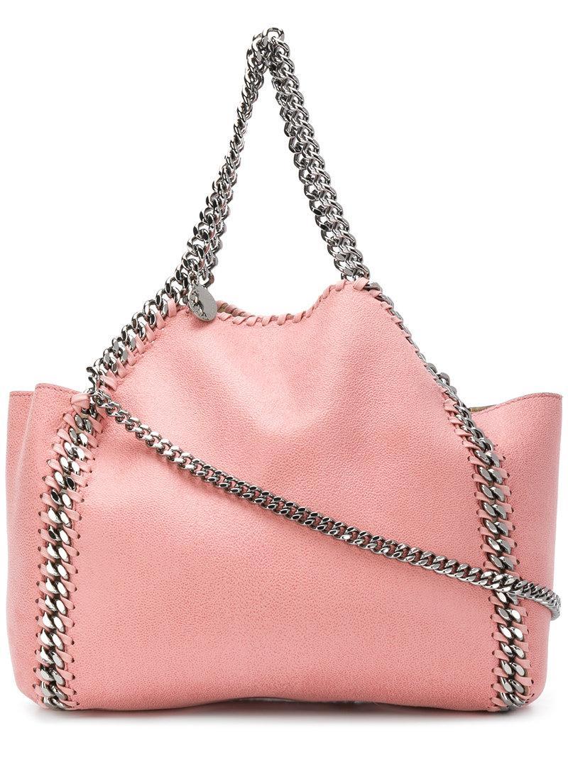 750def82875d0 Stella Mccartney Falabella Tote in Pink - Lyst