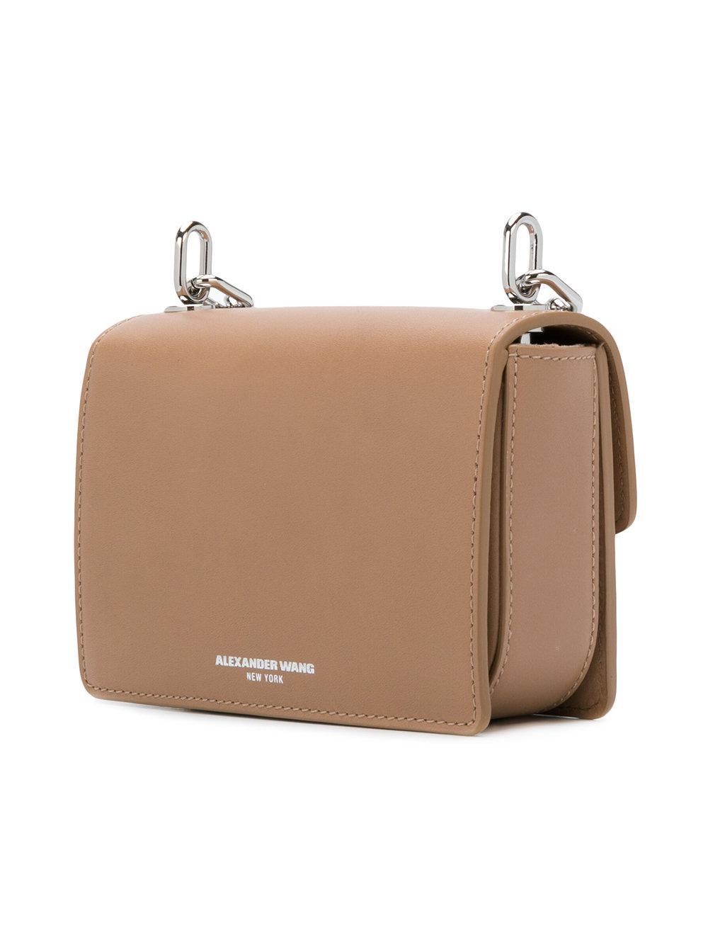Alexander Wang Leather Hook Crossbody Bag