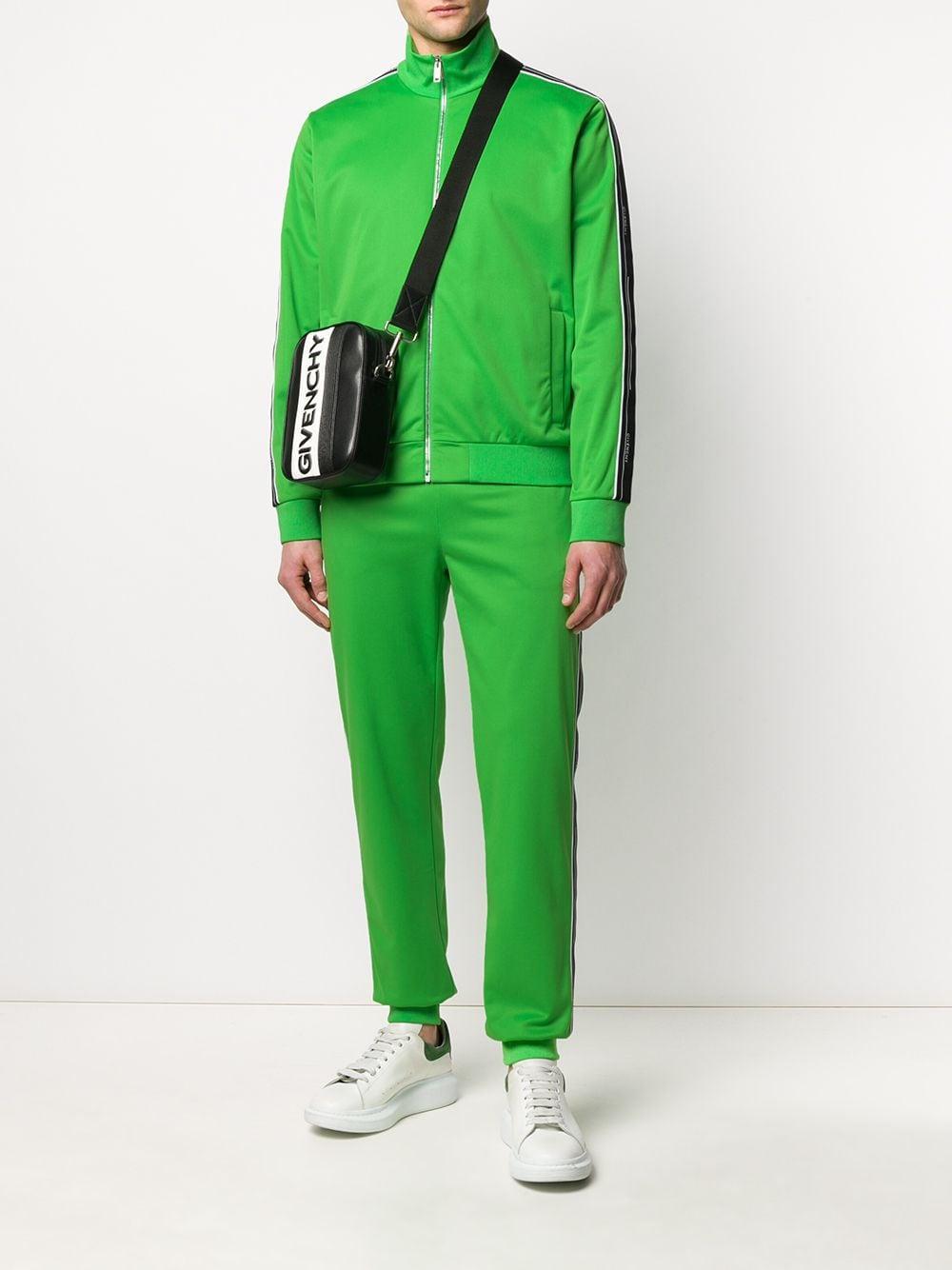 Givenchy Sweater Met Logoband in het Groen voor heren
