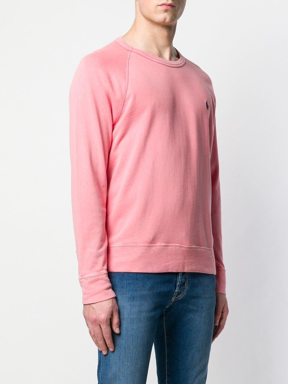 Lyst - Polo Ralph Lauren Hooded Sweatshirt in Gray for Men