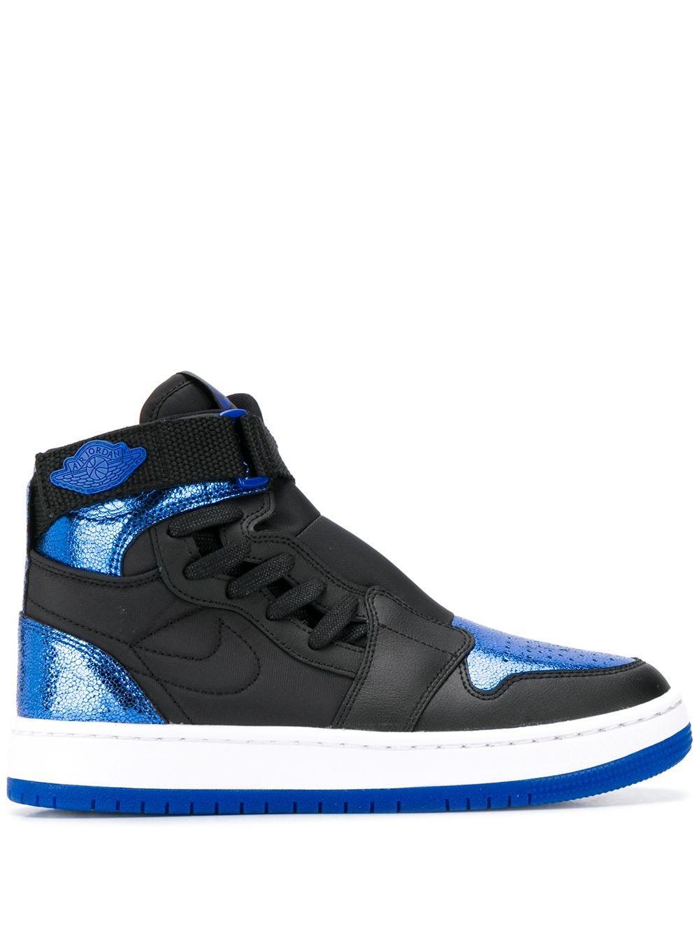 Nike Synthetic Air Jordan 1 Nova High Top Sneakers in Black for ...