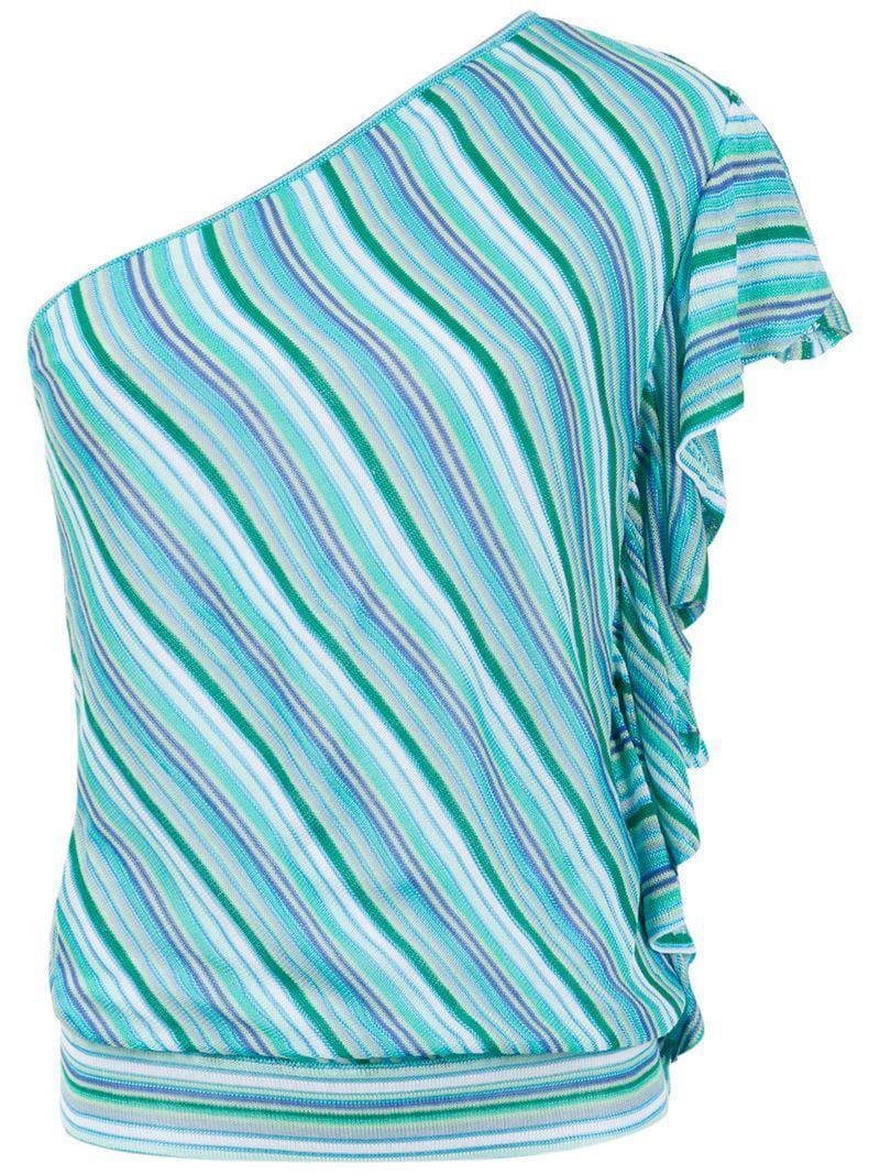 ba5f4a104af3d6 Lyst - Cecilia Prado Helenice Knitted Top in Blue