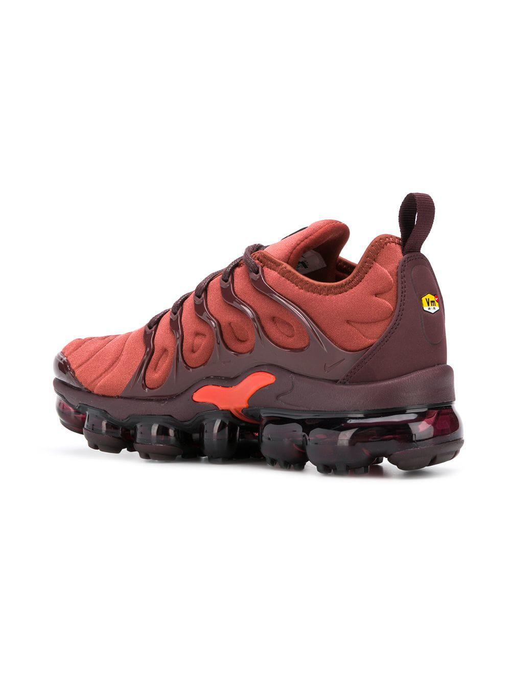 Nike - Orange Air Vapormax Plus Sneakers - Lyst. View fullscreen a91b8f72f