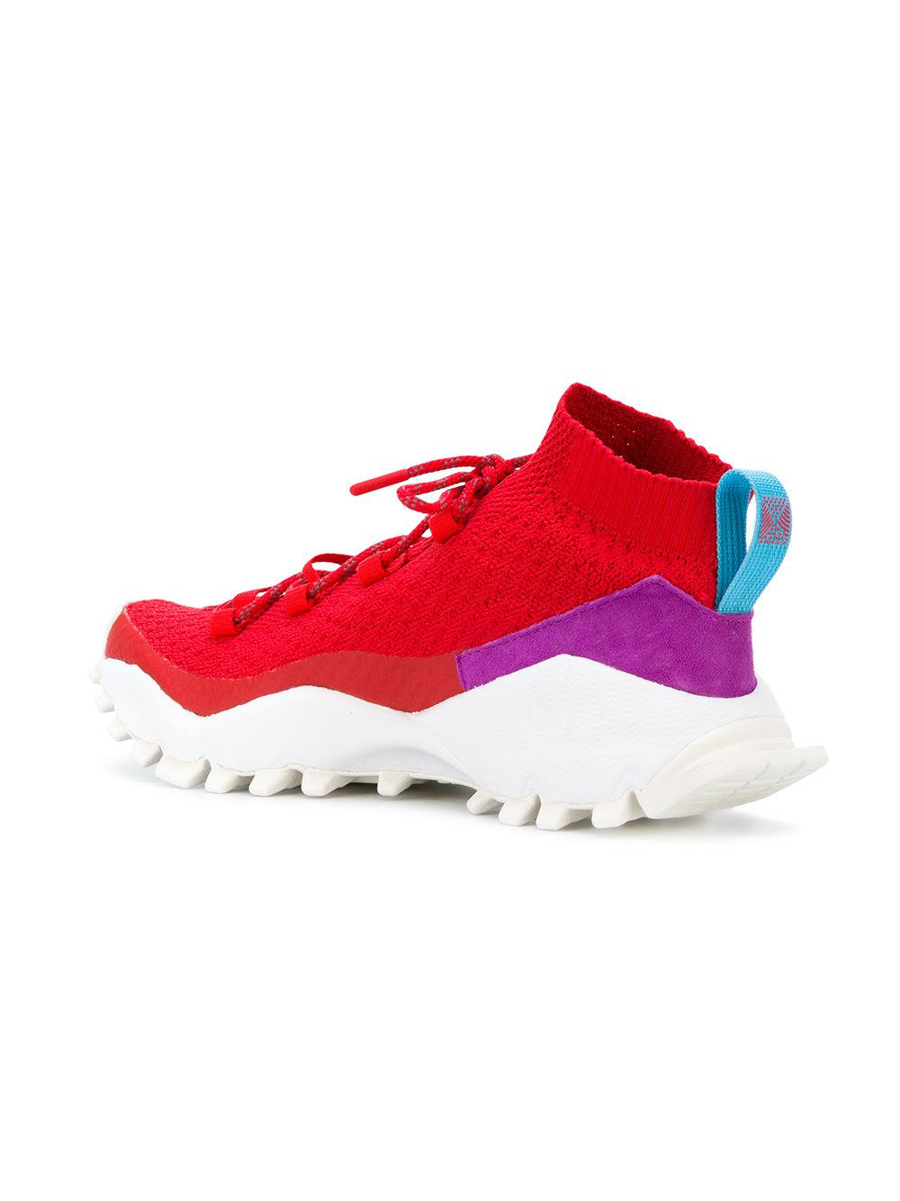 dacb30aa1b0e Lyst - adidas Seeulater Winter Primeknit Sneakers in Red for Men