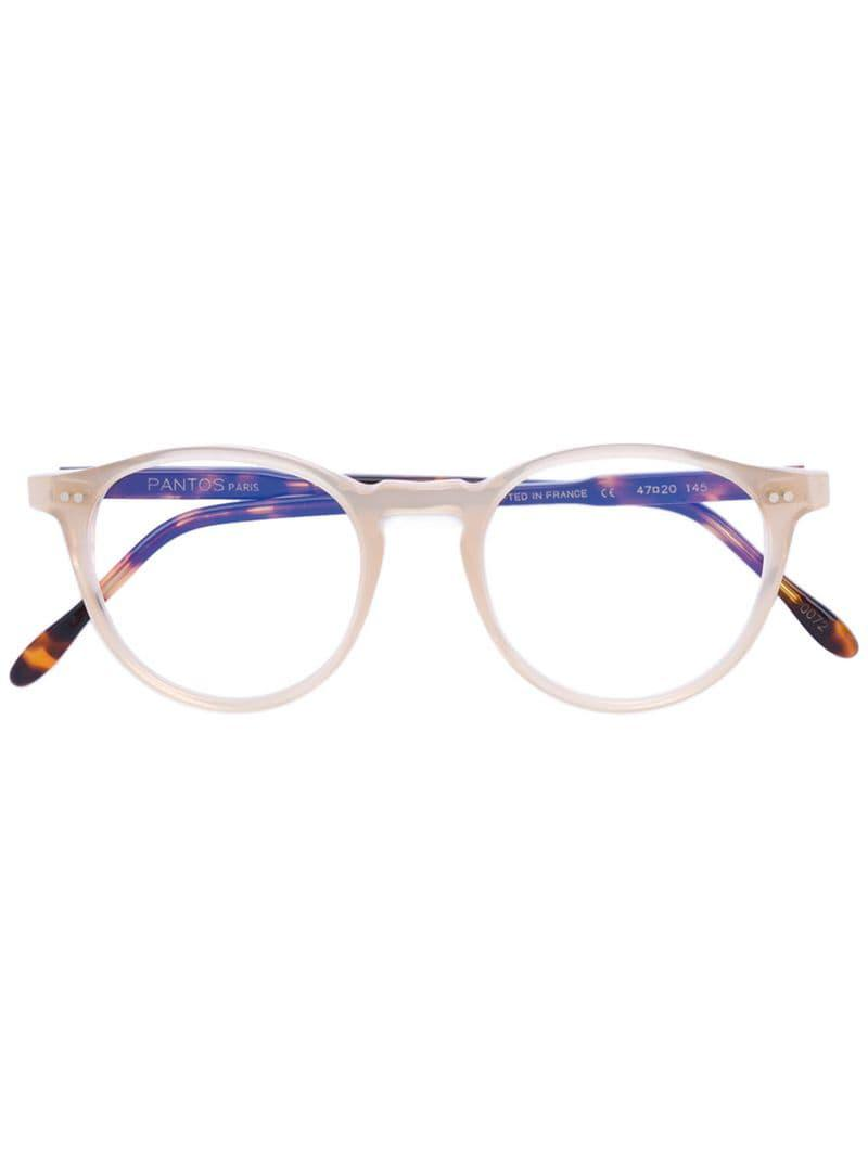 93d3f4d6e3b Pantos Paris - Multicolor Contrast Rim Glasses - Lyst. View fullscreen