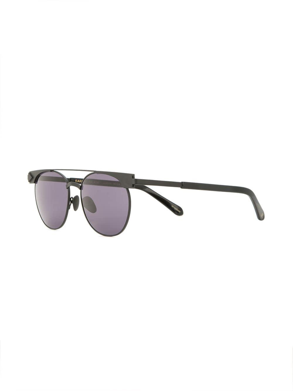 ace08cc709d Karen Walker - Black Jackson Sunglasses - Lyst. View fullscreen