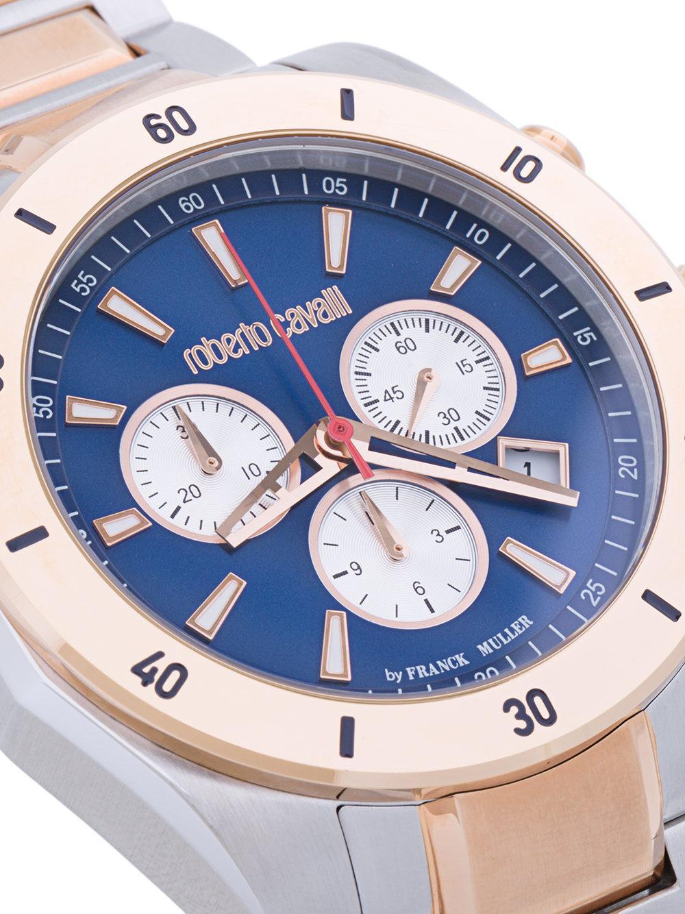 a9fee00cb532 Reloj con cronógrafo Franck Muller Roberto Cavalli de hombre de ...