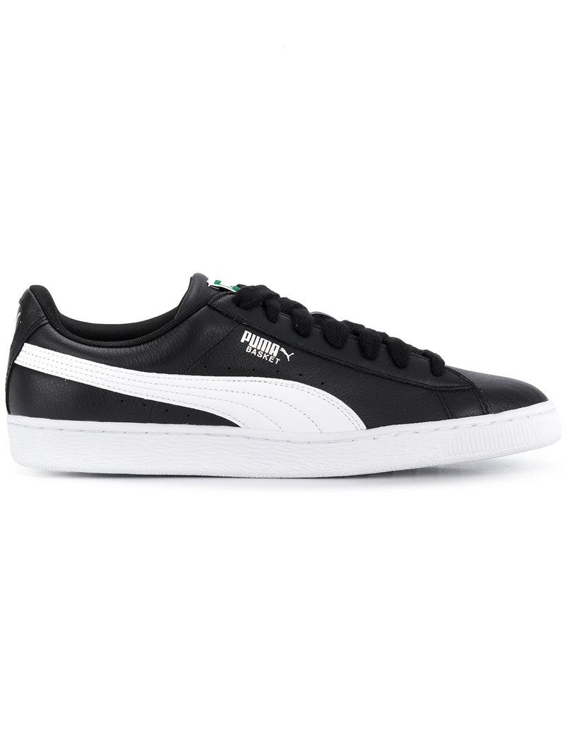 outlet store 2c5e0 2cb21 PUMA Black Heritage Basket Classic Sneakers for men