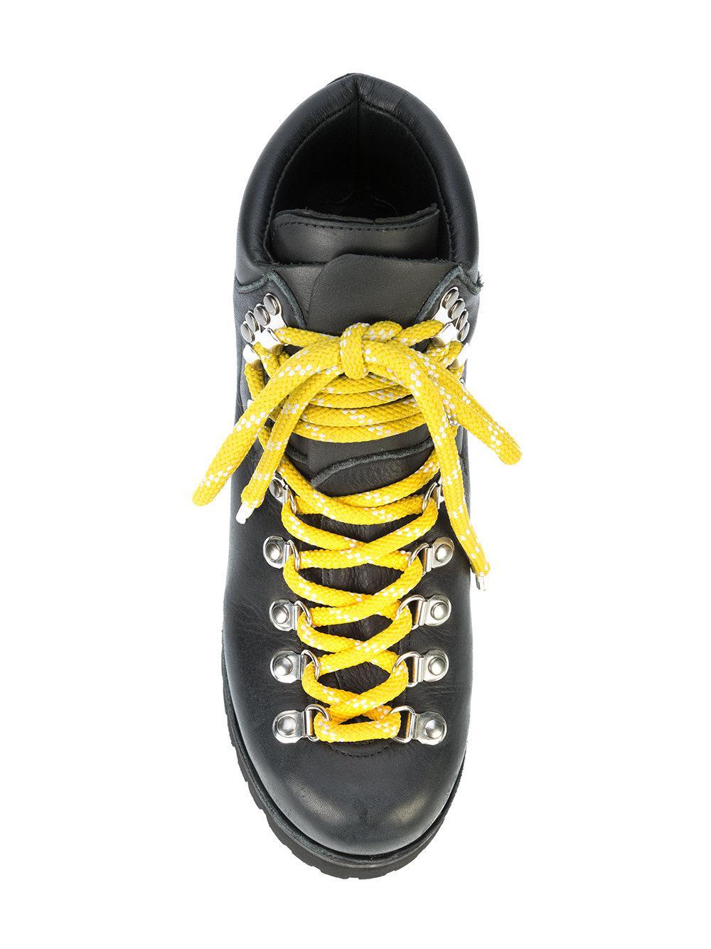Botas con cordones Proenza Schouler de Cuero de color Negro