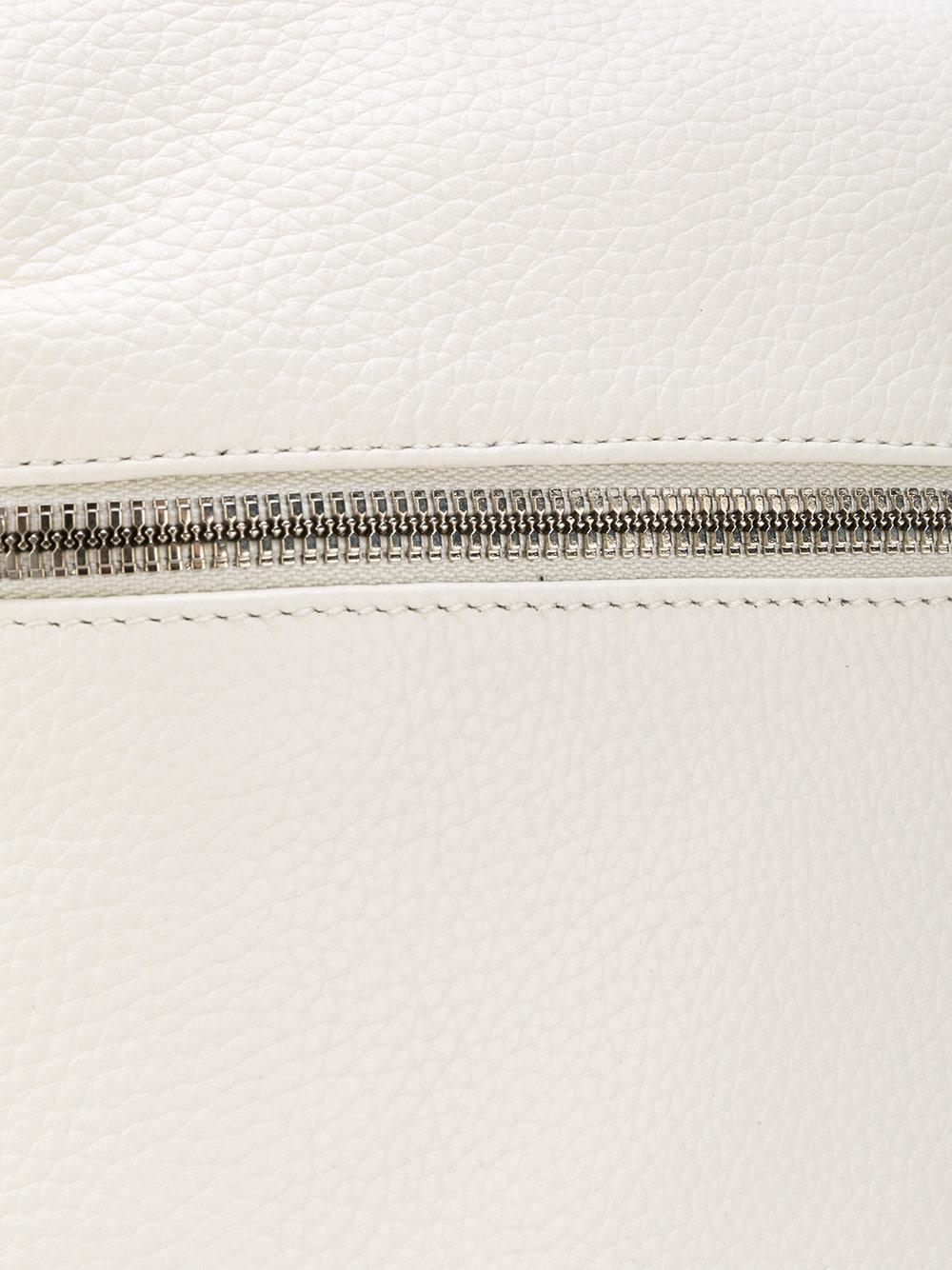 Kara Leather Small Zipped Backpack