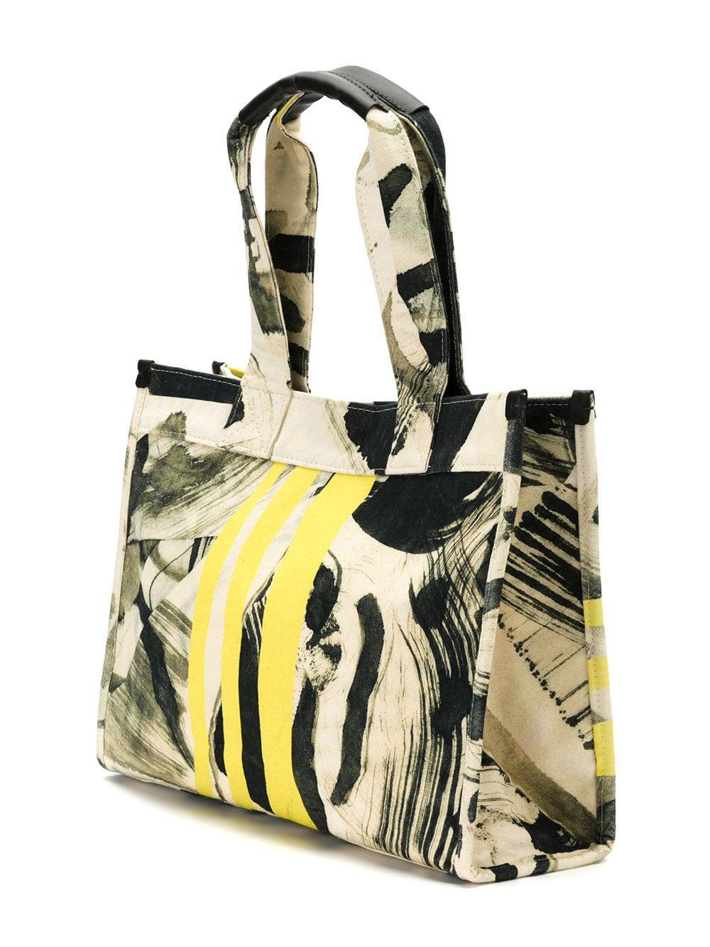 Mara Mac Abstract Print Tote Bag