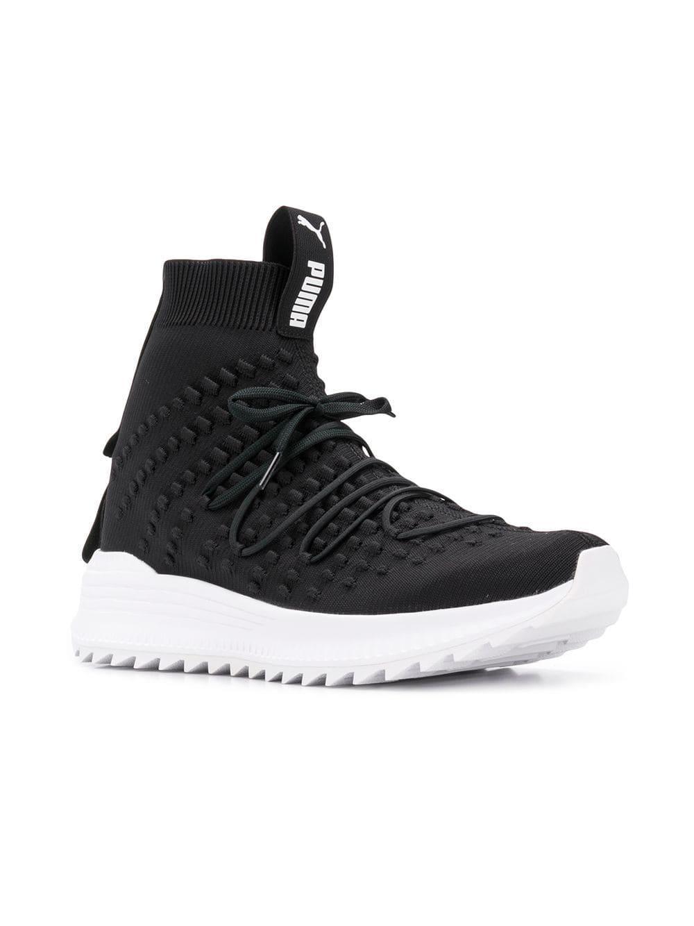 db437d4cdd085d Lyst - PUMA Avid Fusefit Mid Sneakers in Black for Men