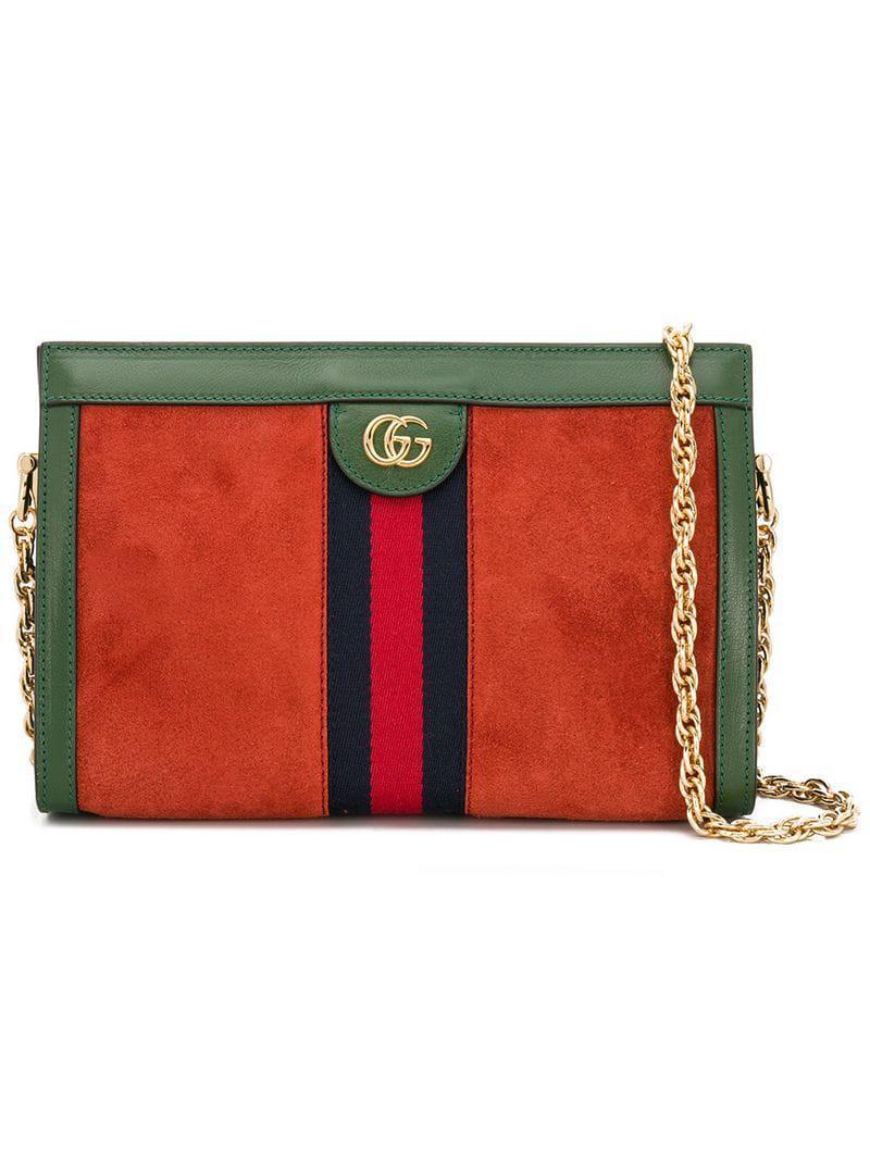 Gucci Ophidia Shoulder Bag in Green - Lyst 40f768b78c2cb