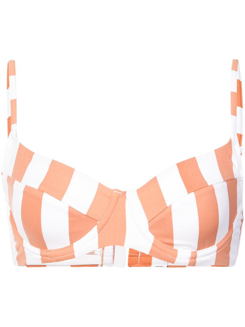 Onia x WeWoreWhat Lydia bikini top - Red Onia Outlet Locations Cheap Online Discount Big Discount Get New Buy Cheap Classic Fashion Style pkdU0fq5sG