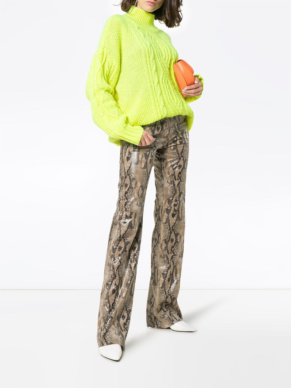 0e408d6468f0 Lyst - MSGM Python Print Trousers - Save 7%