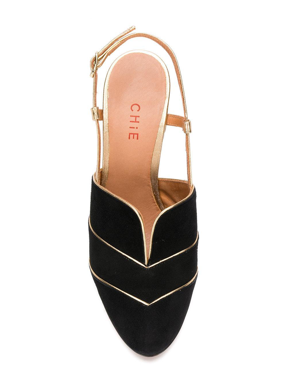 Zapatos de salón Chie Mihara de Ante de color Negro