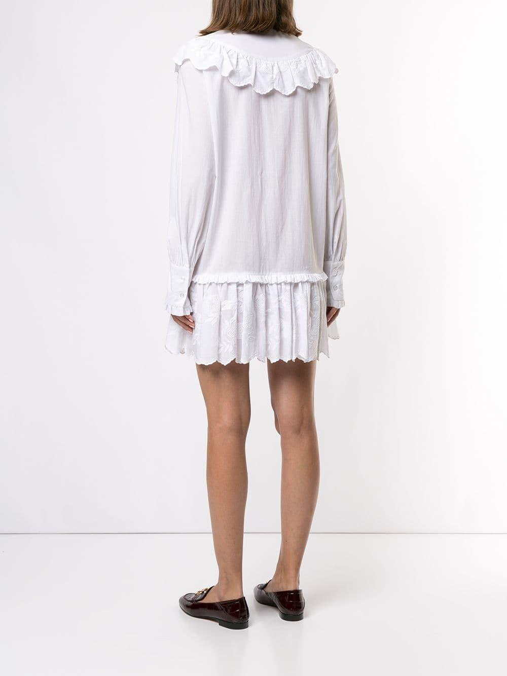 Robe Fable Coton Macgraw en coloris Blanc