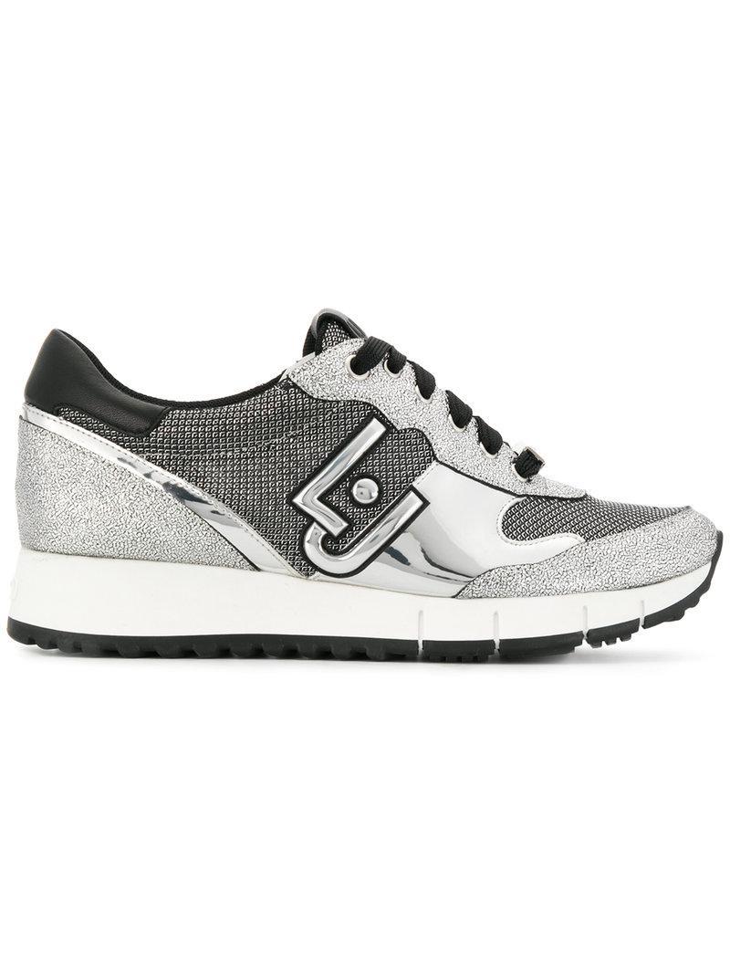 Chaussures De Sport De Blocs De Couleur Liu Jo - Métalliques LzVBi
