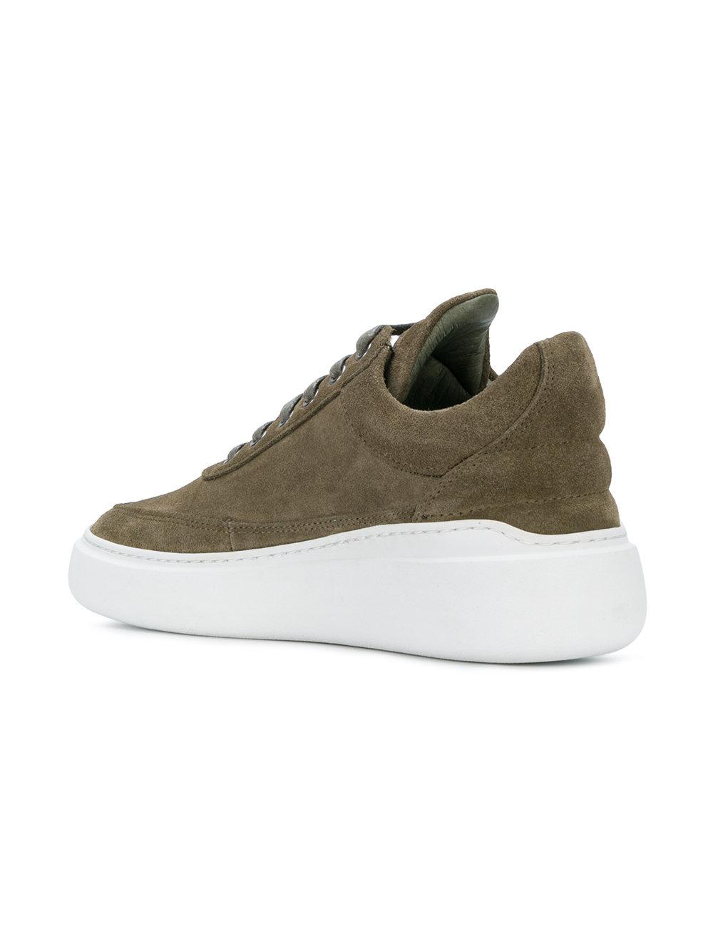 Filling Pieces Leather Low Top Angelica
