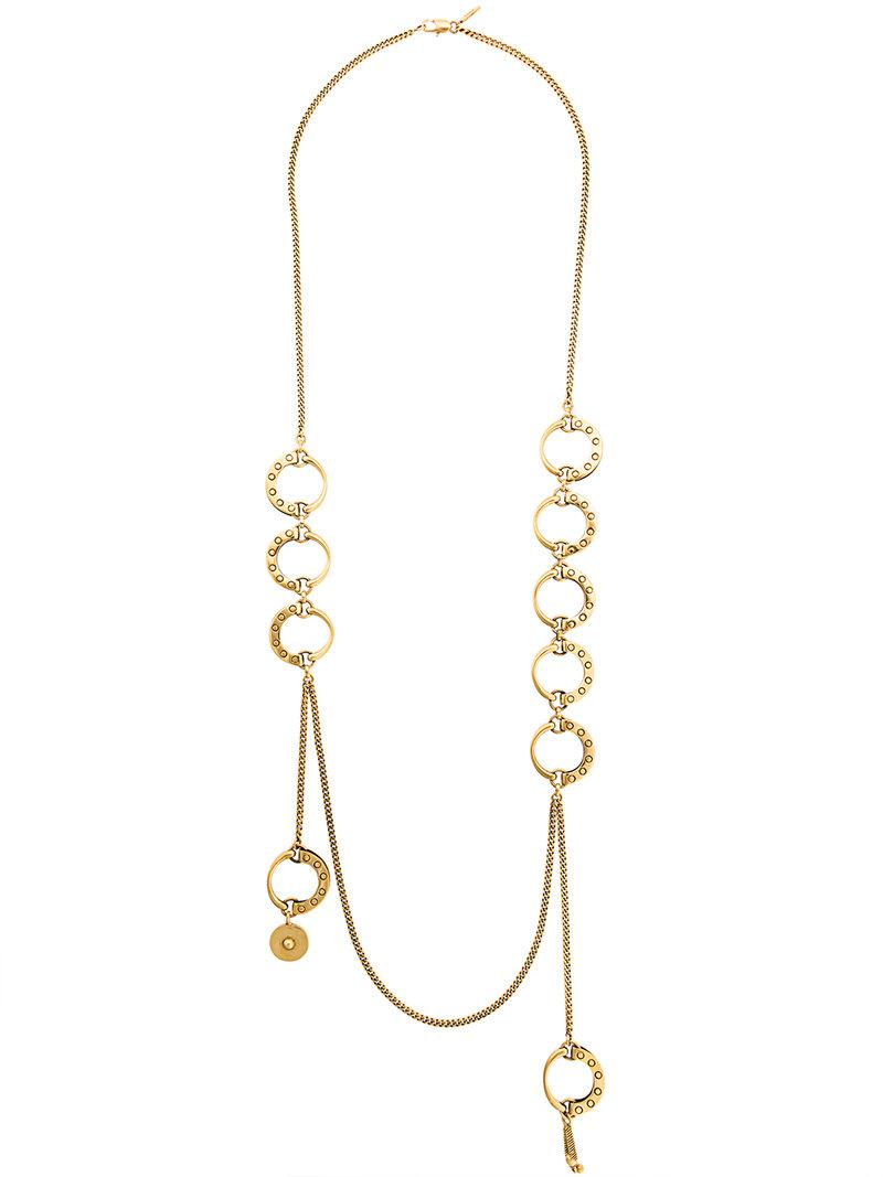 Chloé Quinn curbed-chain necklace